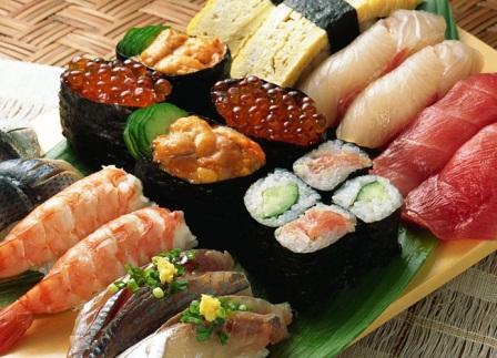 рыба есть: